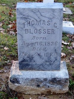 Thomas Gossage Blosser