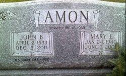 Mary E <i>McGhee</i> Amon