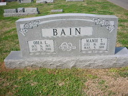 Mamie Catherine <i>Tucker</i> Bain