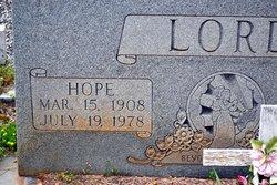 Hope Lord