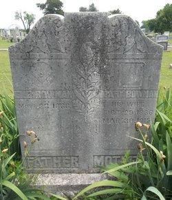 Mary E. Polly <i>Cox</i> Bowman