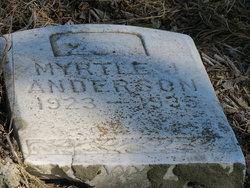 Myrtle J Anderson