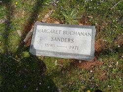 Margaret <i>Buchanan</i> Sanders