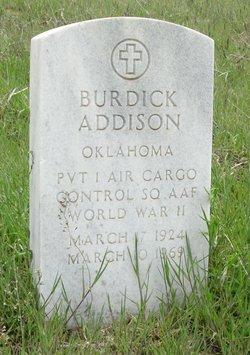 Burdick Addison