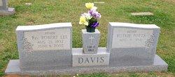 Rev Robert Lee Davis