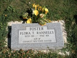 Florence Tezzelle Flora <i>Rannells</i> Foster