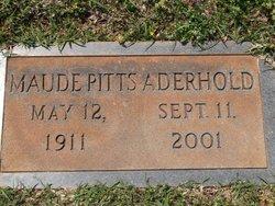 Maude Pitts Aderhold