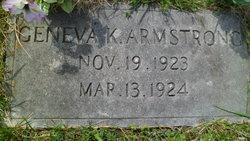 Geneva K. Armstrong