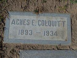 Agnes E. Colquitt