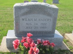 Wilma Margaret <i>Newell</i> Anders