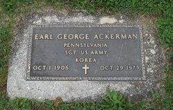 Earl George Ackerman