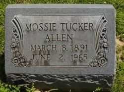 Mossie <i>Tucker</i> Allen
