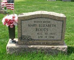 Mary Elizabeth <i>Grunden</i> Roots