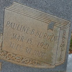 Pauline <i>Gregory</i> Burgin