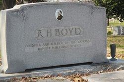 Rev Henry Allen Boyd