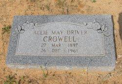 Abie Mae <i>Driver</i> Crowell