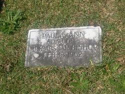 Paula Ann Bishop