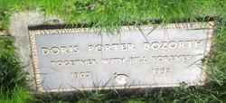 Doris <i>Porter</i> Bozorth