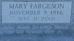 Mary <i>Fargeson</i> Bennett