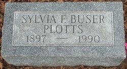 Sylvia Frances <i>Buser</i> Plotts