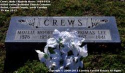 Molly Elizabeth <i>Moore</i> Crews
