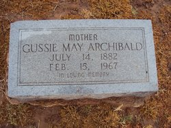 Gussie Mae <i>Connell</i> Archibald