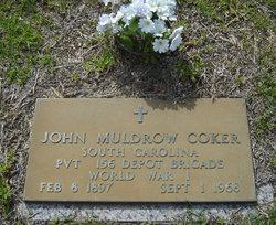 John M(uldrow) Coker