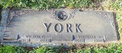 Virginia D <i>Shick</i> York