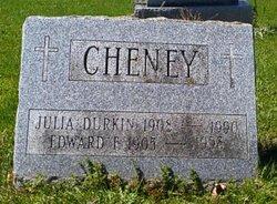 Julia <i>Durkin</i> Cheney