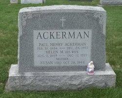 Susan Anne <i>Eckenrode</i> Ackerman