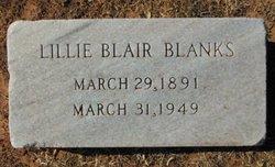 Lillie <i>Blair</i> Blanks