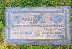 Marie Ruby <i>Cummings</i> Cox