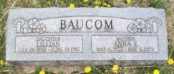 Anna E. <i>Myers</i> Baucom