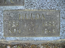 Hulda <i>Spry</i> Butler