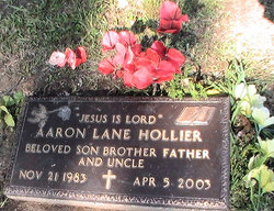 Aaron Lane Hollier