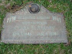 Clara E Braden