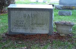 Clara J <i>Hendrie</i> Daly