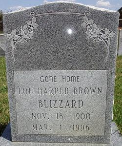 Lou <i>Harper</i> Blizzard