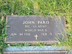 John Paris, Sr