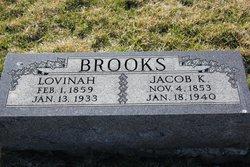 Elizabeth Lovina Lovina <i>Downing</i> Brooks