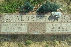 Delia Alma <i>Tramel</i> Albritton