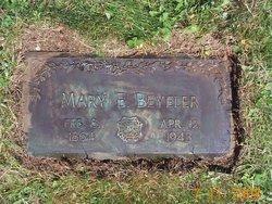 Marie Elizabeth <i>Harder</i> Beyeler