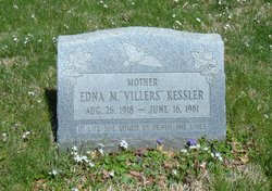 Edna M. <i>Villers</i> Kessler