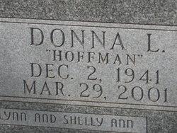 Donna Lee <i>Hoffman</i> Burwell