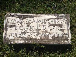 Mamie <i>McRoy</i> Biggs