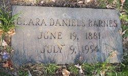 Clara <i>Daniels</i> Barnes