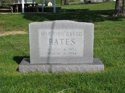 Marjorie <i>Gregg</i> Bates
