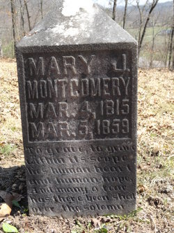 Mary Jane <i>Howe</i> Montgomery