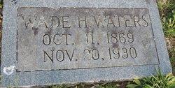 Wade H Waters