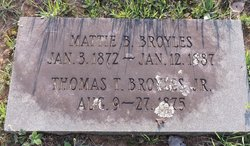 Mattie Bradley Broyles
